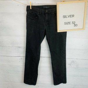 Silver Jeans Konrad Slim Fit Black sz W30 L32